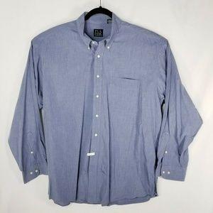 Jos A Bank Mens Button Down Shirt Sz XL Extra Larg
